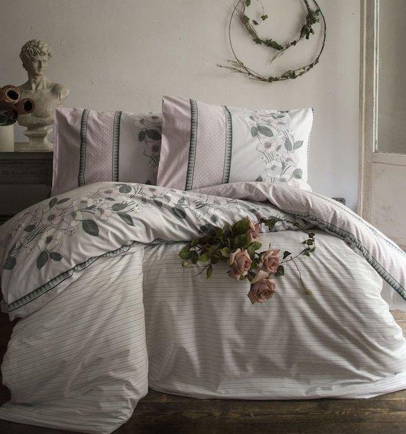 Комплект постельного белья Issimo Home RANFORCE PINKYBELL хлопковый ранфорс евро, фото, фотография