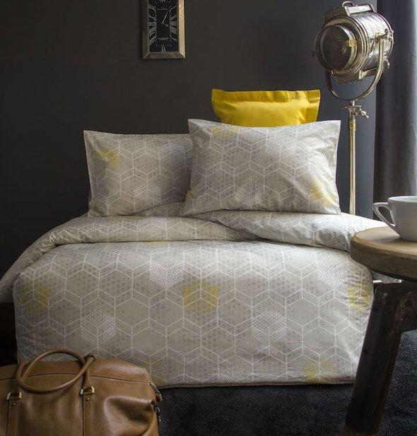 Комплект постельного белья Issimo Home RANFORCE POLINA хлопковый ранфорс 1,5 спальный, фото, фотография