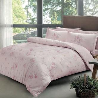 Постельное белье TAC PREMIUM DIGITAL MADELINE хлопковый сатин делюкс (розовый)