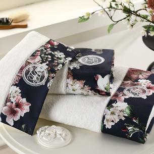Подарочный набор полотенец для ванной 3 пр. + спрей Tivolyo Home LAVINIA хлопковая махра