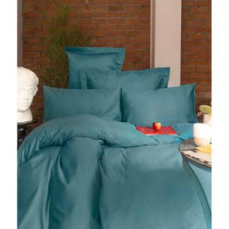 Постельное белье Issimo Home SIMPLY SATIN хлопковый сатин делюкс голубой