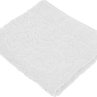 Коврик-полотенце Issimo Home VALENCIA бамбуково-хлопковая махра белый