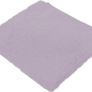 Коврик-полотенце Issimo Home VALENCIA бамбуково-хлопковая махра аметист 50х80