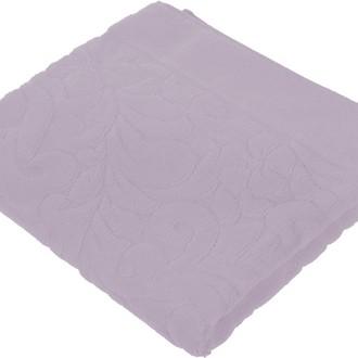 Коврик-полотенце Issimo Home VALENCIA бамбуково-хлопковая махра аметист