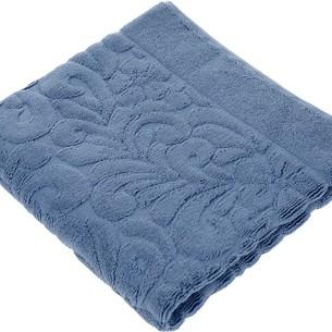 Коврик-полотенце Issimo Home VALENCIA бамбуково-хлопковая махра индиго 50х80