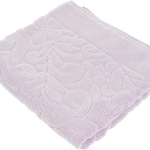 Коврик-полотенце Issimo Home VALENCIA бамбуково-хлопковая махра лиловый 50х80