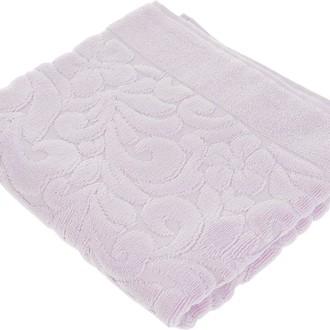Коврик-полотенце Issimo Home VALENCIA бамбуково-хлопковая махра лиловый