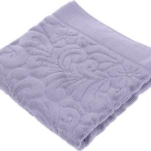 Коврик-полотенце Issimo Home VALENCIA бамбуково-хлопковая махра фиолетовый 50х80
