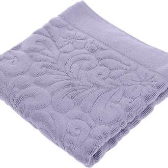 Коврик-полотенце Issimo Home VALENCIA бамбуково-хлопковая махра фиолетовый