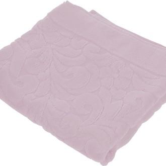 Коврик-полотенце Issimo Home VALENCIA бамбуково-хлопковая махра бледно-пурпурный