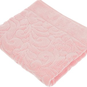 Коврик-полотенце Issimo Home VALENCIA бамбуково-хлопковая махра розовый 50х80