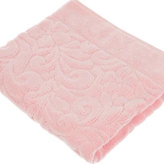 Коврик-полотенце Issimo Home VALENCIA бамбуково-хлопковая махра розовый