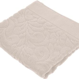 Коврик-полотенце Issimo Home VALENCIA бамбуково-хлопковая махра (пудра)