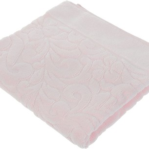 Коврик-полотенце Issimo Home VALENCIA бамбуково-хлопковая махра светло-розовый 50х80