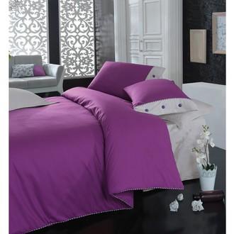 Постельное белье Cotton Box PLAIN хлопковый ранфорс (фиолетовый)