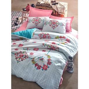 Постельное белье Cotton Box ALATURCA GULCEHRE хлопковый ранфорс розовый 1,5 спальный