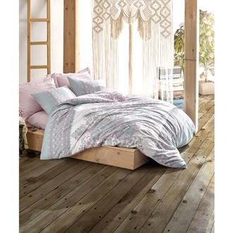 Постельное белье Cotton Box BOHEM ALMINA хлопковый ранфорс розовый