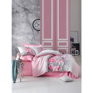 Постельное белье Cotton Box MODE LINE FIONA хлопковый ранфорс розовый евро