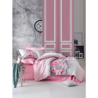 Постельное белье Cotton Box MODE LINE FIONA хлопковый ранфорс розовый