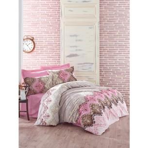 Постельное белье Cotton Box MODE LINE LIDA хлопковый ранфорс бежевый 1,5 спальный