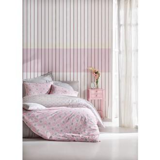 Постельное белье Cotton Box MINIMAL FINE хлопковый ранфорс розовый