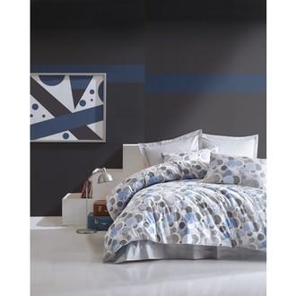 Постельное белье Cotton Box MINIMAL POLY хлопковый ранфорс голубой