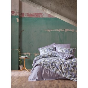 Постельное белье Cotton Box MINIMAL WELL хлопковый ранфорс лиловый евро