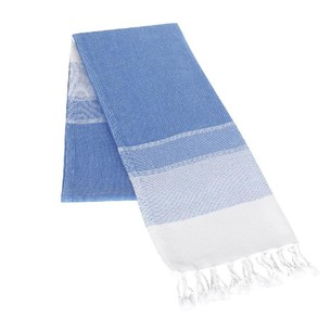 Полотенце-палантин пештемаль Buldan's LIDYA хлопок синий 100х180