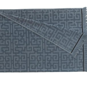 Полотенце-палантин пештемаль Buldan's MAIA хлопок серый 90х170