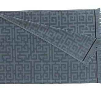 Полотенце-палантин (пештемаль) Buldan's MAIA хлопок (серый)