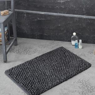 Коврик Modalin TRENDY хлопок/полиэстер тёмно-серый 50х80