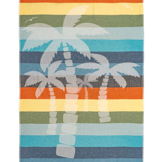Полотенце пештемаль для пляжа, сауны, бани Begonville BAMBOO KAHALAI бамбук/хлопок beach