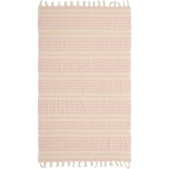 Полотенце пештемаль для пляжа, сауны, бани Begonville BEACON хлопок pink