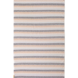 Полотенце пештемаль для пляжа, сауны, бани Begonville TERRY SKYE хлопок beige 100х180