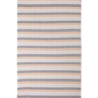 Полотенце пештемаль для пляжа, сауны, бани Begonville TERRY SKYE хлопок (beige)