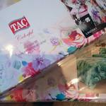 Постельное белье TAC PREMIUM DIGITAL PVC DAPHNE хлопковый сатин делюкс лиловый семейный, фото, фотография