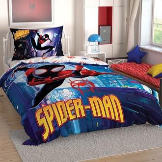 Комплект детского постельного белья TAC SPIDERMAN INTO THE SPIDER VERSE хлопковый ранфорс