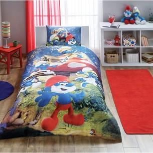 Детское постельное белье TAC SIRINLER THE LOST VILLAGE хлопковый ранфорс 1,5 спальный
