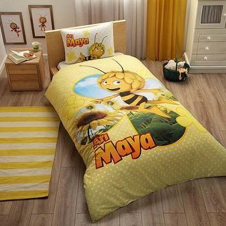 Комплект детского постельного белья TAC ARI MAYA DAISY хлопковый ранфорс