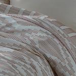 Постельное белье Ecocotton COLOSSAE органический хлопковый сатин делюкс терракотовый евро, фото, фотография