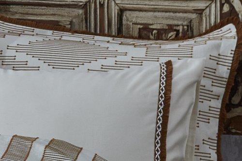 Постельное белье Ecocotton COLOSSAE органический хлопковый сатин делюкс горчичный евро, фото, фотография