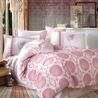 Постельное белье Hobby Home Collection DIAMOND хлопковый поплин (розовый)