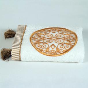 Полотенце для ванной в подарочной упаковке Ecocotton ARUS органический хлопок кремовый 50х90