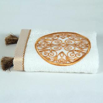Полотенце для ванной в подарочной упаковке Ecocotton ARUS органический хлопок кремовый