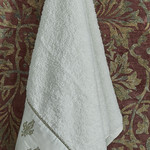 Полотенце для ванной в подарочной упаковке Ecocotton ASLISAH органический хлопок кремовый 50х90, фото, фотография