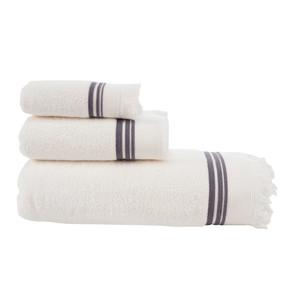 Полотенце для ванной Buldan's ALMERIA хлопковая махра белый 90х150