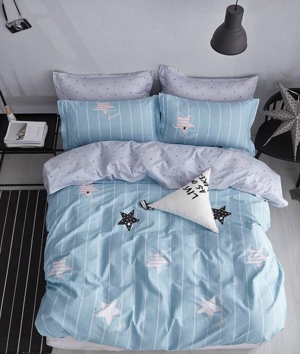 Постельное белье взрослое/детское Tango TWILL 222 хлопковый сатин 2-х спальный (нав. 50х70), фото, фотография