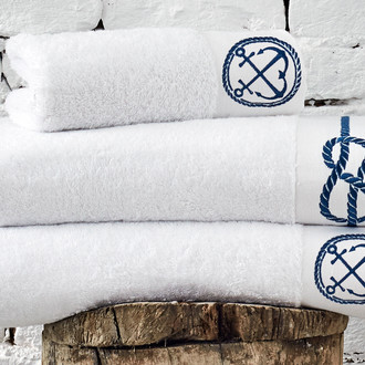 Полотенце для ванной в подарочной упаковке Ecocotton ROUTE органический хлопок белый
