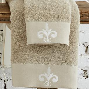 Полотенце для ванной в подарочной упаковке Ecocotton BEYZADE органический хлопок бежевый 80х150