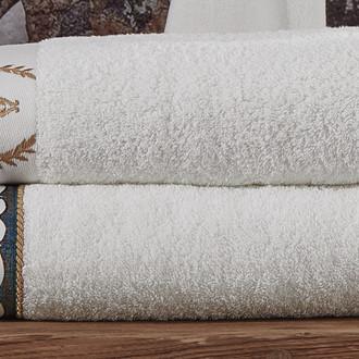 Полотенце для ванной в подарочной упаковке Ecocotton AHSEN органический хлопок (женский кремовый)